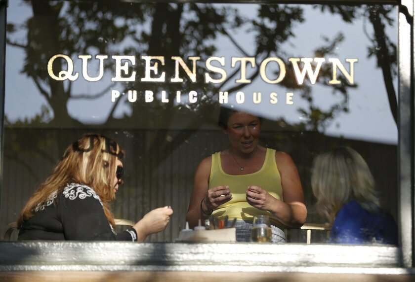 Queenstown Public House in Little Italy is the owners' third New Zealand-themed eatery.