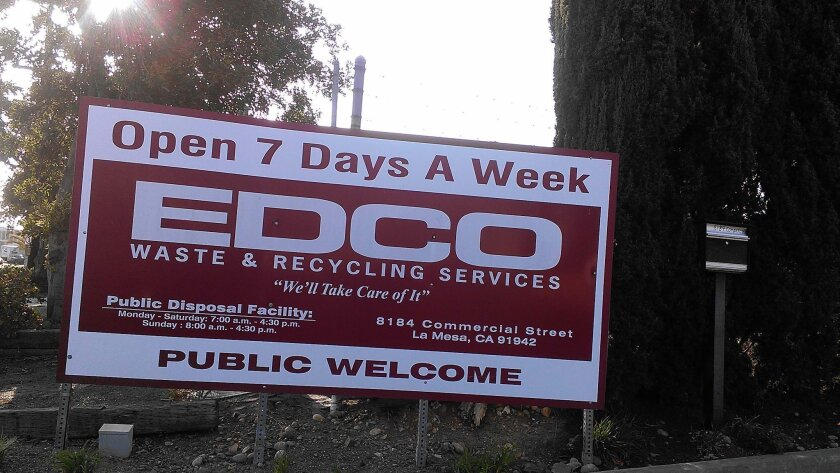 EDCO will be part of a public hearing in La Mesa in June to discuss a rate hike for residents.