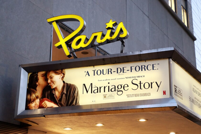 Netflix said Monday that it signed a lease agreement to keep the Paris Theatre in New York open. The financial terms of the lease were not disclosed.