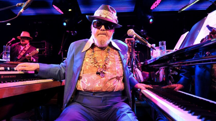 Dr John Performs in London