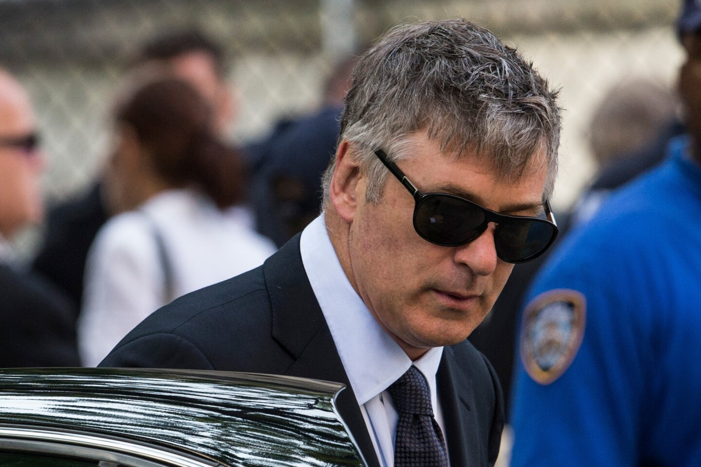 """Alec Baldwin went on a homophobic, profanity-laden online rant in late June before shutting down his Alec Baldwin Foundation Twitter account, all in defense of his pregnant wife, Hilaria, whom a Daily Mail reporter had apparently errantly accused of tweeting while the couple attended James Gandolfini's funeral. Baldwin called Daily Mail writer George Stark a """"toxic little queen"""" and """"lying little bitch,"""" and suggested Stark would enjoy forcible sodomy -- specifically a foot up the rear. The actor also threatened to find the writer and mess him up, only in more profane terms. All this against the backdrop of the tweeting story being off-base in the first place: Hilaria and Alec had left the funeral discreetly through a side door about 45 minutes in, after the eulogies but before Communion. The yoga instructor hadn't even had her phone with her, she said on Twitter. Turns out the writer didn't consider time zones when looking at time stamps on the tweets. MORE: Alec Baldwin loses it in Twitter rant, hurls homophobic slurs"""