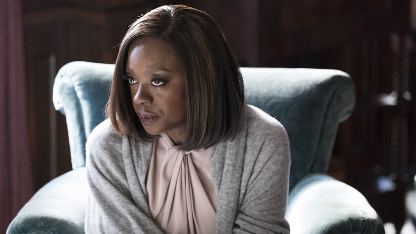 "Viola Davis in ""How to Get Away with Murder"" on ABC."