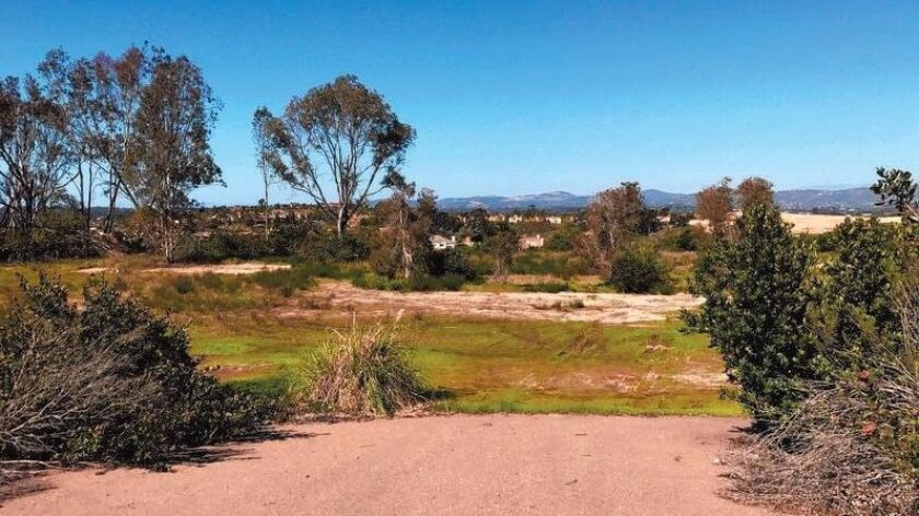 Ten new homes are planned on this lot at the end of Lighthouse Way in Carmel Valley.