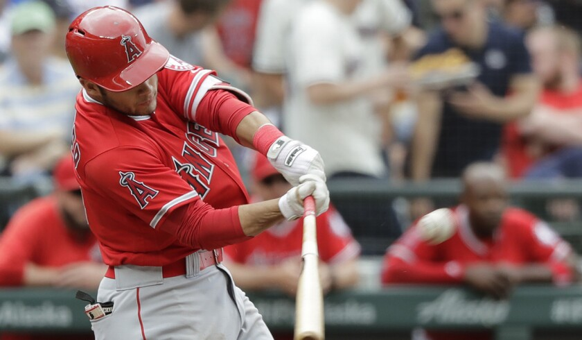 Angels' David Fletcher is batting .303 (24 for 79) with 18 runs, eight doubles and six runs batted in over his last 20 games.