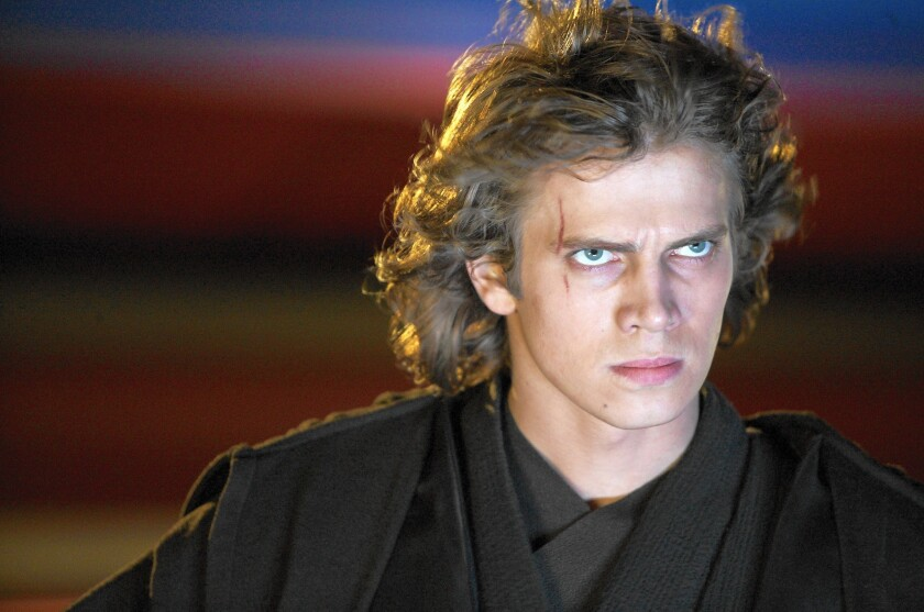 """Star Wars"" changed Hayden Christensen's life."