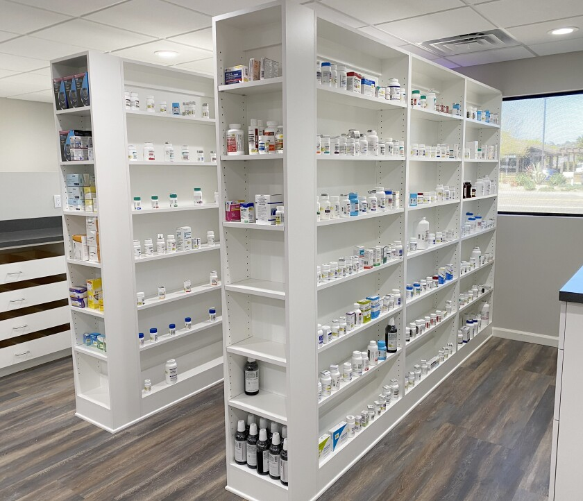 Ankit and Shital Vaghasiya opened their Best Care Pharmacy in Ramona on April 1. They say they will compete with larger chain drugstores on services, deliveries and prices.