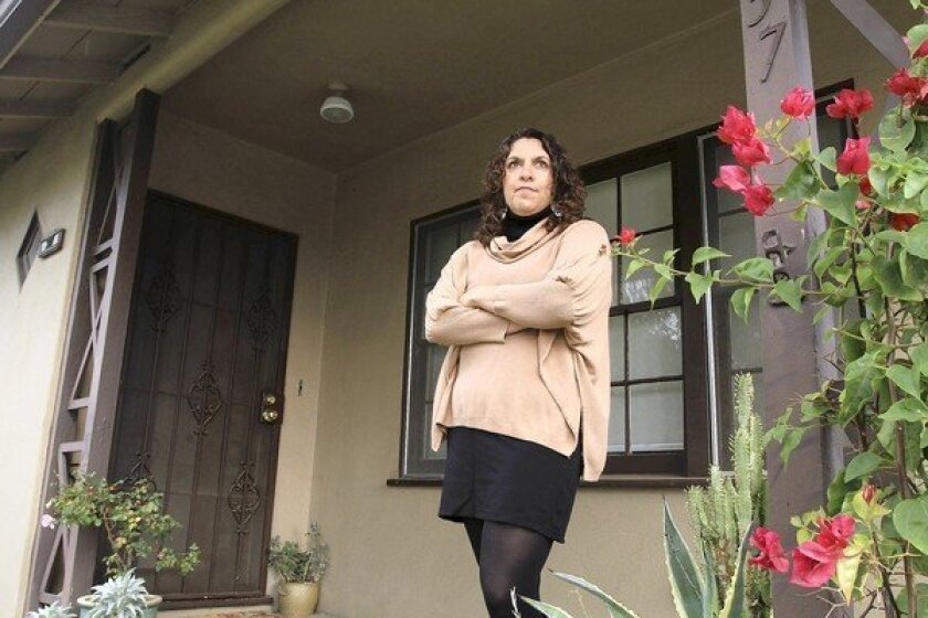 Hoping for a better valuation, Joanna Zimring Towne is remodeling her Altadena home's kitchen.