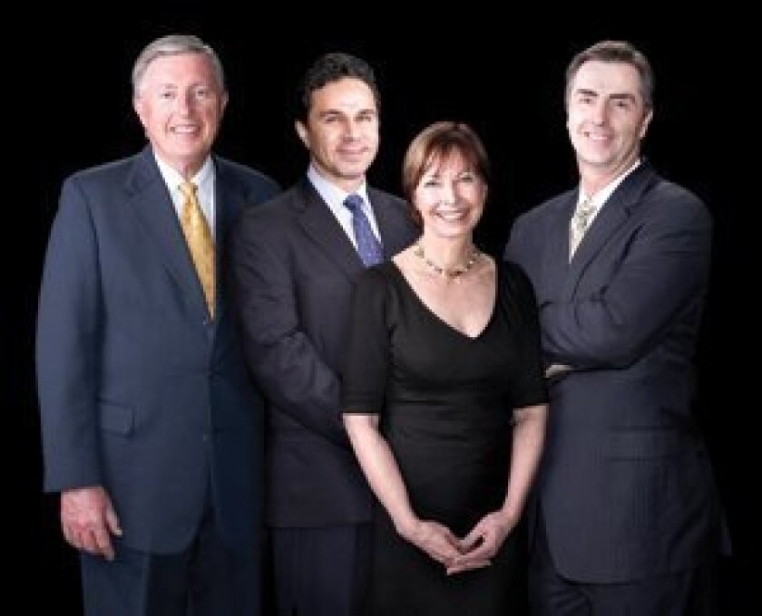 Wendell Smoot, MD, Reza Sadrian, MD, Carol Hollan, MD and John Smoot, MD