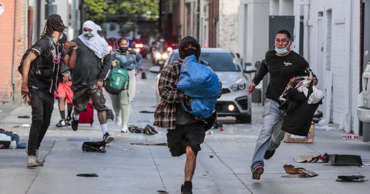LAPD response to protests critiqued as chaos continues