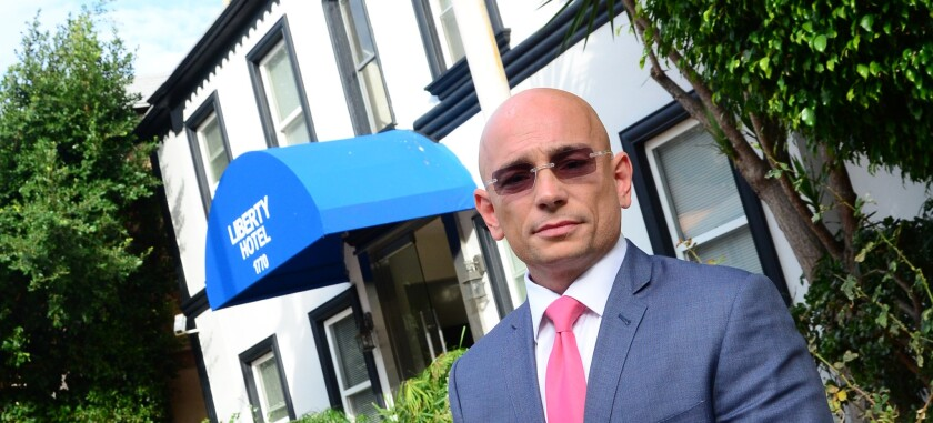 """Anthony Melchiorri, a veteran of 20 years in the hospitality business, has hosted Travel Channel's series """"Hotel Impossible"""" since 2012."""