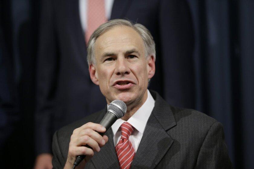Texas Atty. Gen. Greg Abbott
