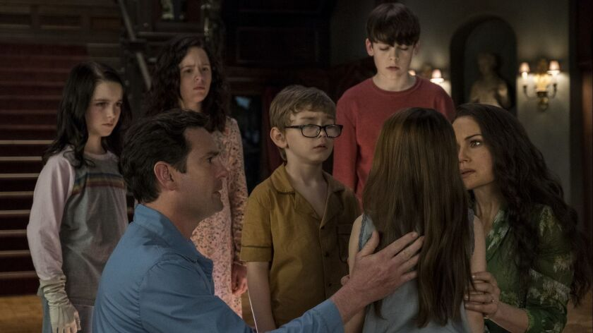 Commentary The Haunting Of Hill House Proves That Family Is The Scariest Thing Of All Los Angeles Times