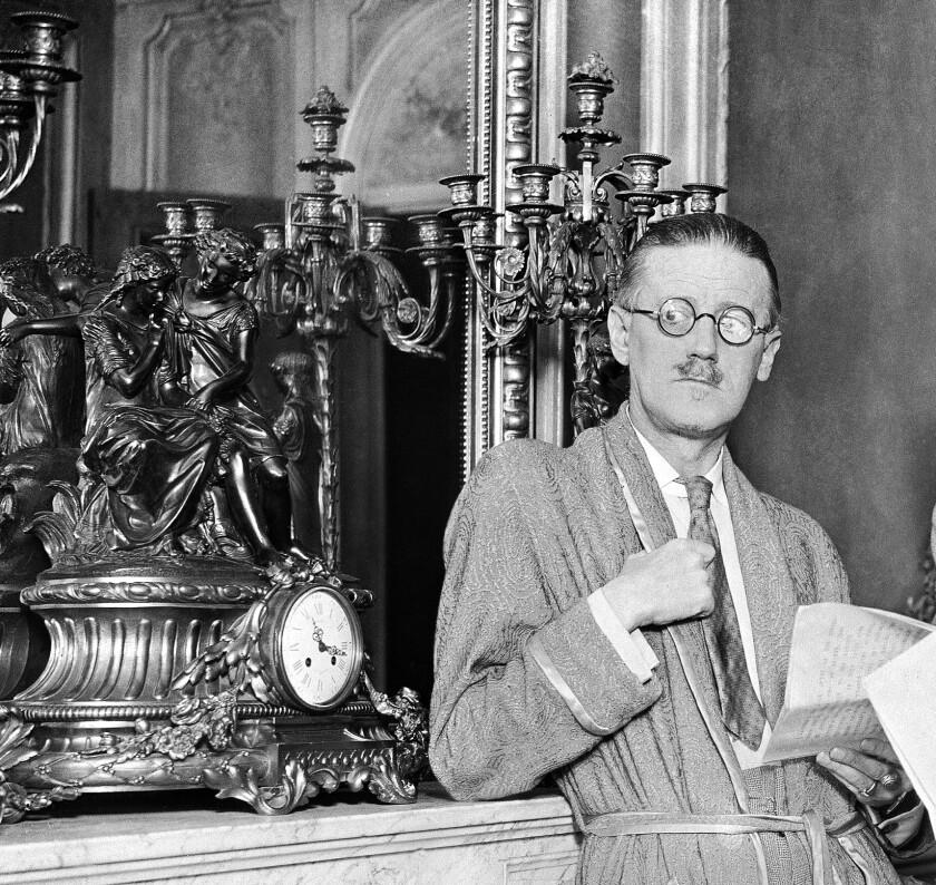 James Joyce.