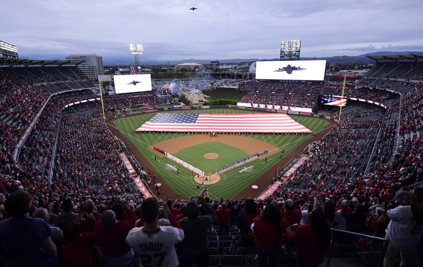 APphoto_Rangers Angels Baseball