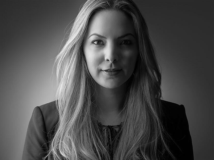 """Un retrato de Lorena Villareal, la directora del film """"Silencio""""."""