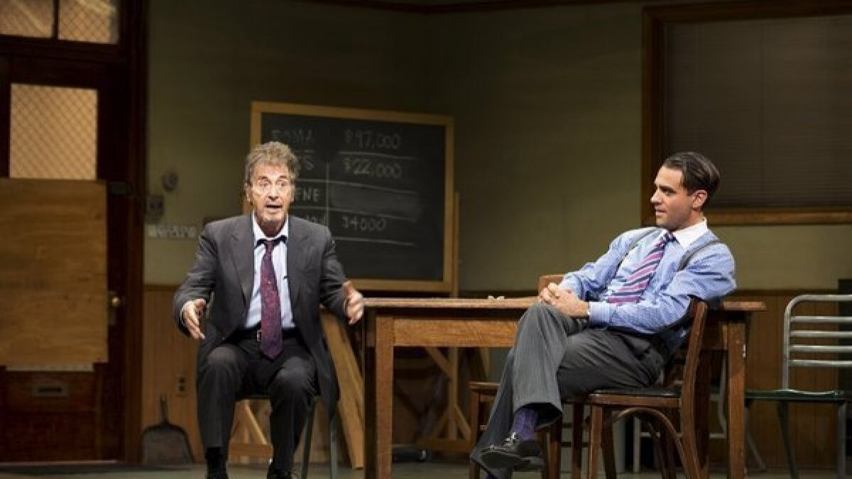 Glengarry Glen Ross With Al Pacino Recoups Investment Los Angeles Times