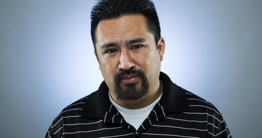 Los Angeles Times columnist Dylan Hernández.