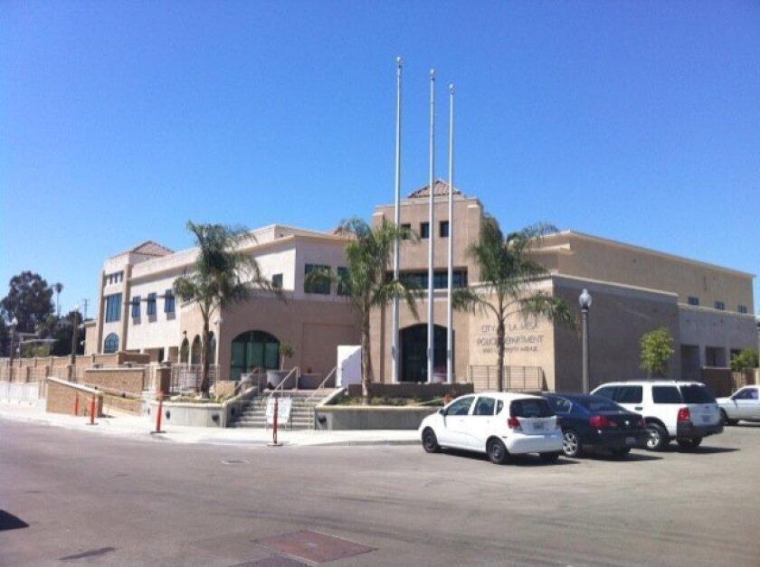 The new La Mesa Police Department headquarters.