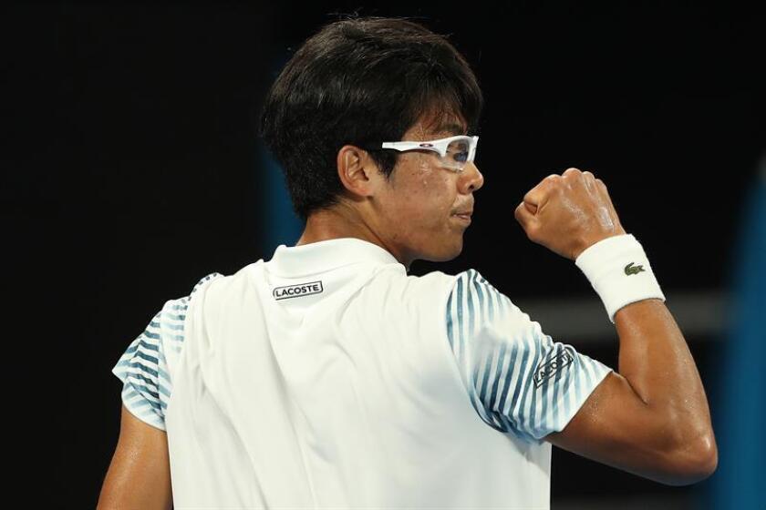 El tenista Hyeon Chung. EFE/Archivo