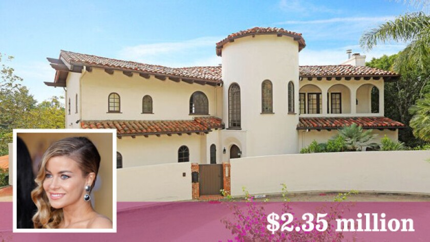 Model-actress-television personality Carmen Electra sells her house in Hollywood Hills West for $2.35 million.