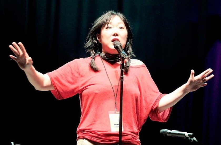 """Comedian Margaret Cho, above, famously said """"White people like to tell Asians how to feel about race because they're too scared to tell black people."""""""