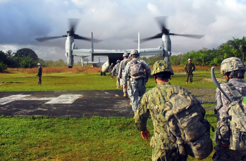 Military effort to fight Ebola outbreak