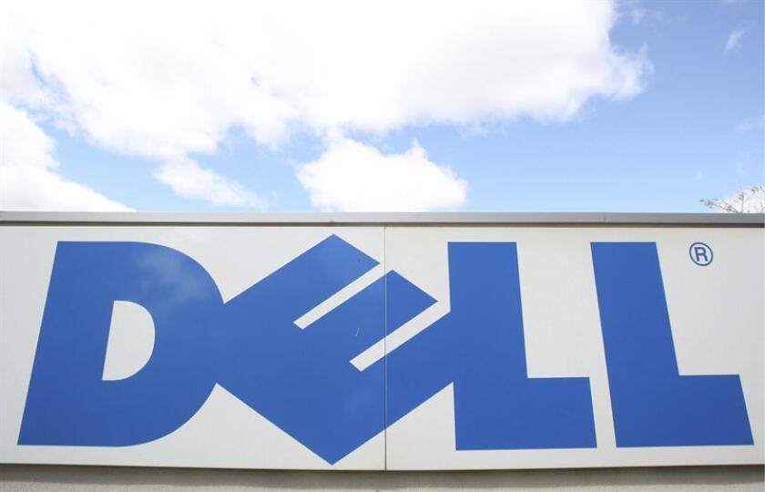 Imagen de archivo del logotipo de la entrada de la empres tecnológica Dell. EFE/Archivo