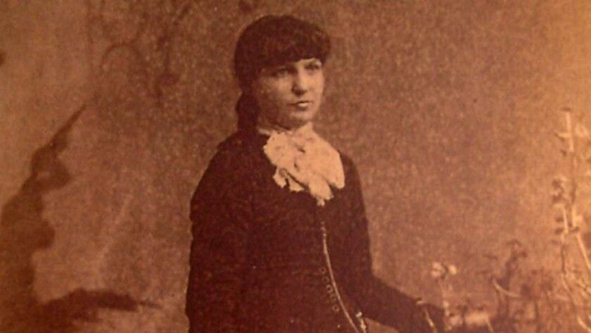 """Undated photo of Kate Morgan, subject of the book,""""The Ghost of the Hotel del Coronado, The TRUE S"""
