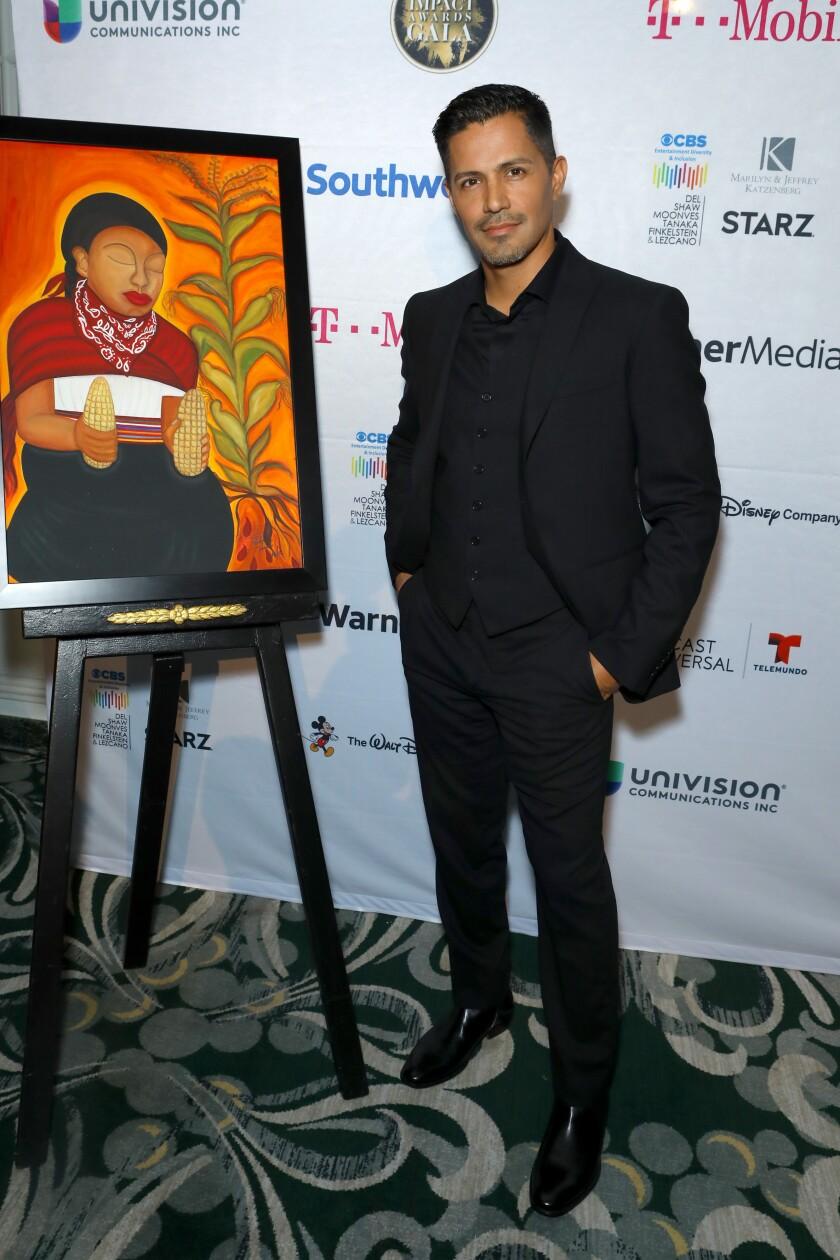 """Magnum P.I."" star Jay Hernandez at the NHMC Impact Awards Gala"