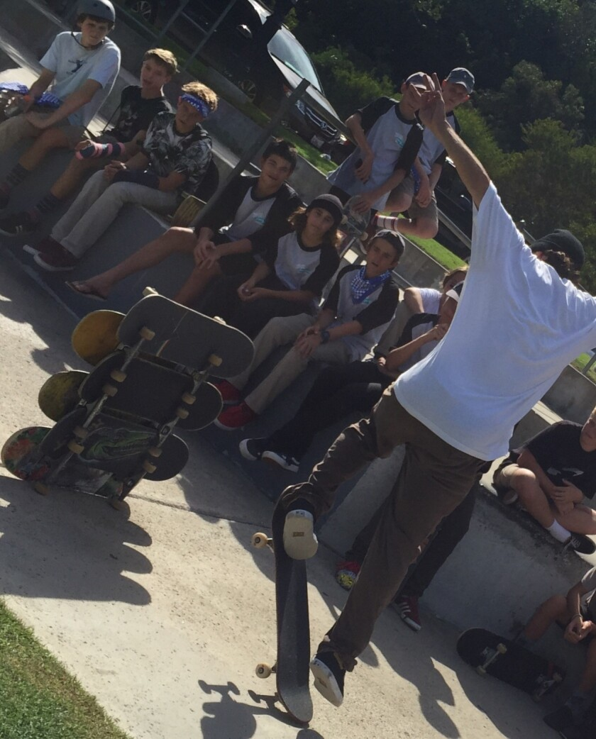 Advocates for the proposed skate park at La Colonia Park in Solana Beach are looking to ramp up their fundraising after the early success of events such as the kickoff fundraiser last fall.