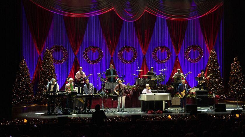 Beach Boys Christmas.Review Brian Wilson And His Band Bring The Beach Boys