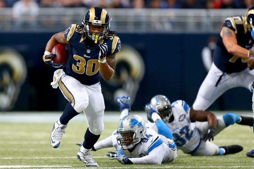 Rams' Todd Gurley is NFL's offensive rookie of the year