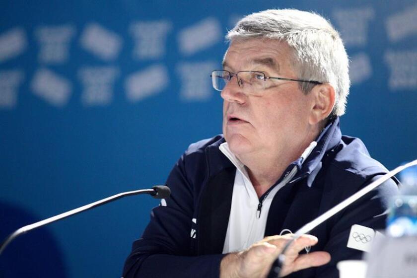 El presidente del Comité Olímpico Internacional, Thomas Bach. EFE/Archivo
