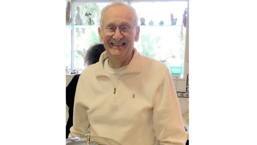 Joe Dilibert, who died May 30, spent 32 years with Burbank Unified, serving as a junior high school