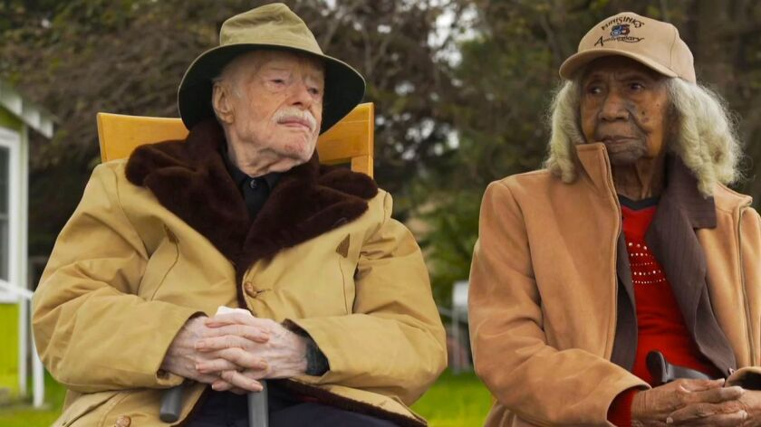 "Eddie Harrison and Edith Hill from ""Edith+Eddie,"" a Kartemquin film."