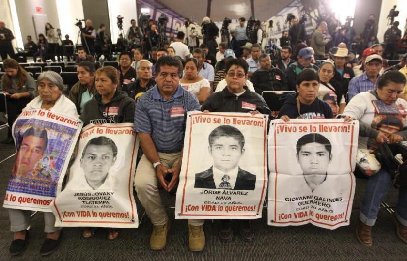 Familiares del caso Ayotzinapa y ONG lamentan liberación de acusado en México