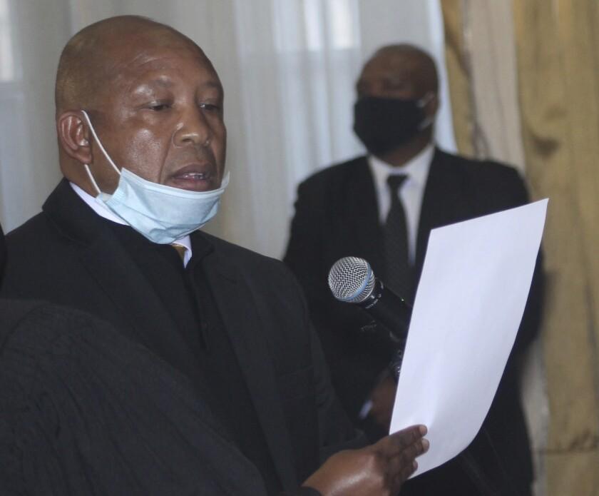 Lesotho New Prime Minister