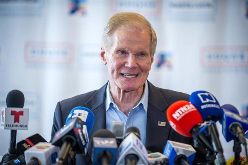 Senador Nelson adelanta por 7 puntos al gobernador de Florida, Rick Scott