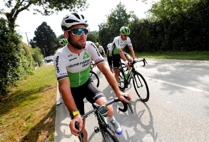 Imagen de archivo del ciclista Mark Cavendish. EFE/Archivo