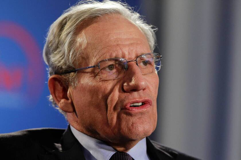 "Bob Woodward's latest book is ""The Price of Politics."""