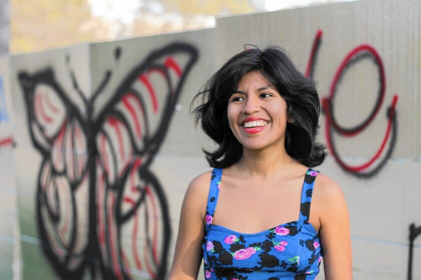 Diana Delgado Cornejo was devastated to discover that she was in the country illegally. The Dream Act enabled her to attend Loyola Marymount.