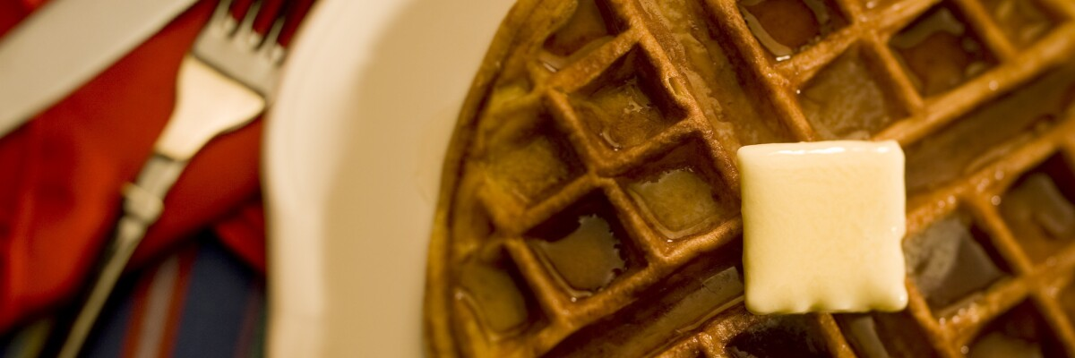 Get your morning going: Great waffle recipes