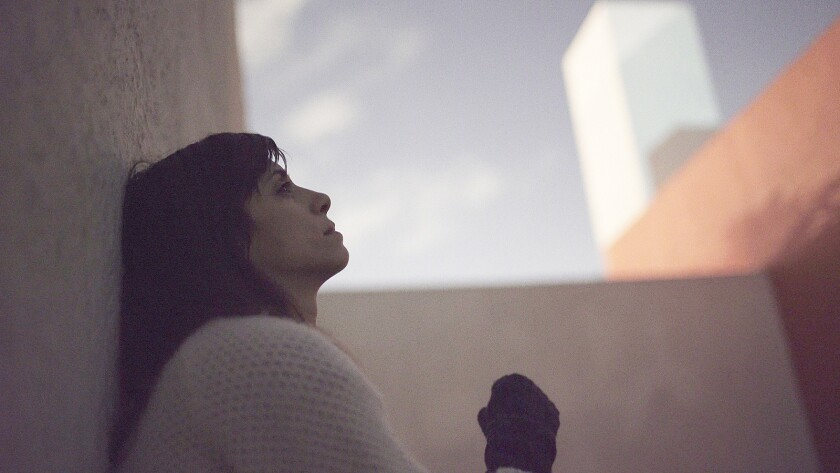 "Director Jill Magid for the film ""The Proposal."" Credit: Oscilloscope Laboratories"
