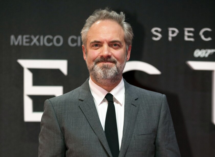 """FILE - In this Monday, Nov. 2, 2015 file photo, director Sam Mendes poses for photographers at the regional premiere of the latest James Bond film, """"Spectre,"""" at the National Auditorium in Mexico City. Sam Mendes, the acclaimed British director of """"Skyfall"""" and """"Spectre"""", said Saturday, May 28, 201"""