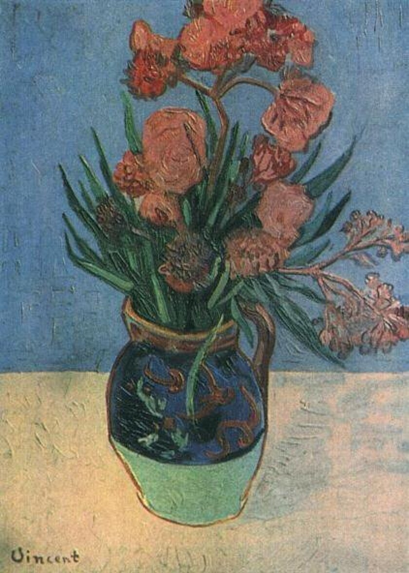 "Van Gogh's ""Still Life: Vase With Oleanders"" missing since 1944"