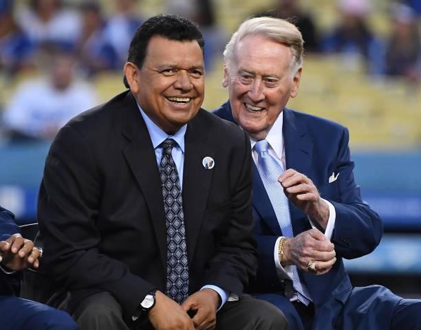 Fernando Valenzuela officially becomes a 'Legend of Dodger Baseball'
