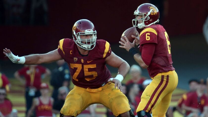 Max Tuerk starred for USC before being selected in the third round of the 2016 NFL draft by the Chargers.