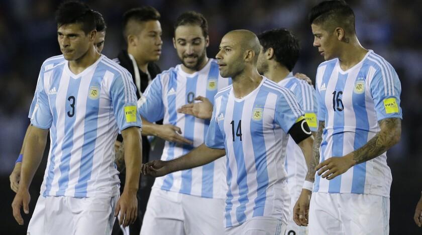 Así quedaron los argentinos al final del juego...
