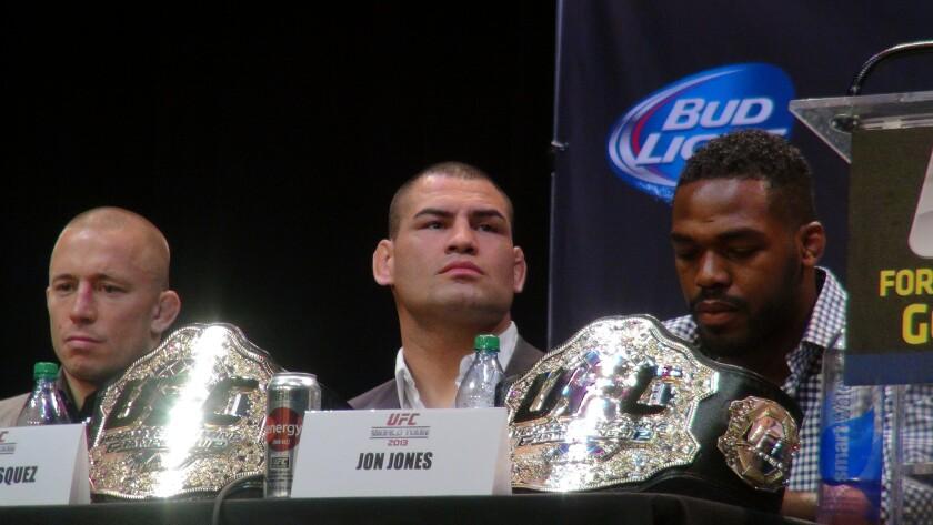 Caín Velásquez, de UFC 188.