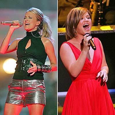 Carrie Underwood & Kelly Clarkson
